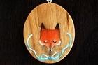 Devon Smith's fox pendant. Photo / Babiche Martens