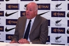 New Zealand Football CEO Michael Glading at a press conference in 2008. Photo / Supplied