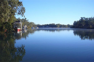 The Murray River is the lifeblood of Mildura thanks to an irrigation system. Photo / Eloise Gibson.