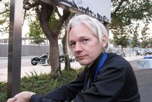 Julian Assange, founder of WikiLeaks. Photo / Supplied