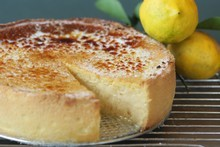Lemon Tart. Photo / Ian Jones 