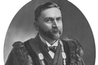 An early photo of the Auckland City mayoral chains. Photo / NZ Herald