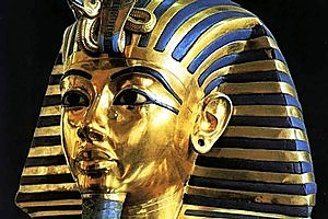 The death mask of King Tutankhamun. Photo / Supplied