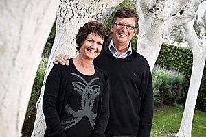James Millton and wife Annie want their wine to be judged solely on its quality. Photo / Supplied