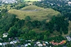 A 'state-of-the-art' management plan was drawn up for Maungawhau-Mt Eden 24 years ago but the key sections were never implemented by the city council. Photo / Martin Sykes