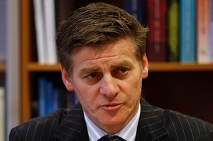 Infrastructure Minister Bill English. Photo / Mark Mitchell