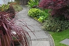 Curved paths disguise boring straight boundaries. Photo / Supplied