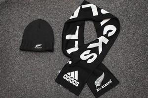 All Blacks' fan-wear is now acrylic. Photo / Christine Cornege