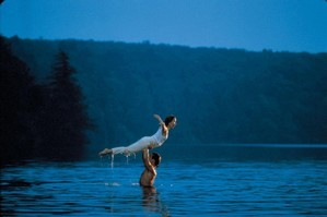 The famous lake scene from the 1987 film 'Dirty Dancing' starring Jennifer Grey and Patrick Swayze. Photo / Supplied