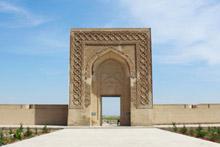 Caravanserai on the road between Khiva and Bukhara, Uzbekistan. Photo / Jim Eagles