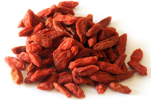 Dried Goji Berries. Photo / Alan Skyrme