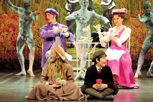 The Australian incarnation of Mary Poppins is alive with firm leads, flamboyant supporting characters and pop-up book sets, all making for a thrilling sensory blast. Photo / Disney/CML