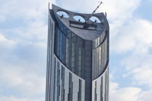 The Strata tower in Elephant and Castle, London, has won Building Design magazine's Carbuncle Cup for Britain's ugliest new building. Photo / Creative Commons