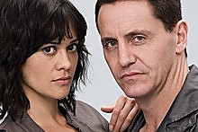Miriama McDowell (left) with Charles Mesure in  This Is Not My Life . Photo / Supplied