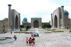 The Registan, Samarkand, Uzbekistan. Photo / Jim Eagles