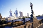 The Yarra River in Melbourne, where three outstanding exhibitions are being held. Photo / Supplied