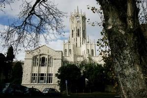 University of Auckland clock tower. Photo / Herald on Sunday