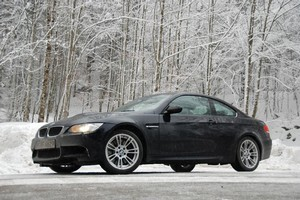With a bit of common sense from the driver, BMW's M3 takes icy conditions in its stride. Photo / Jacqui Madelin