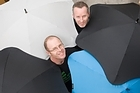 Greig Brebner (left) and Scott Kington of Madeblunt say their products are built to last.   Photo / Paul Estcourt