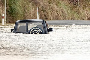 Disasters such as floods cost millions every year. Better forecasts promise to cut the damage bill. Photo / APN