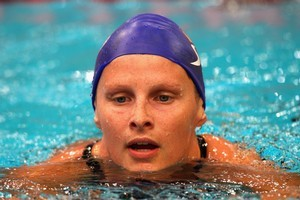 At 24, Leisel Jones is at the mature end of the Australian team at the Pan Pacific champs. Photo / Getty Images