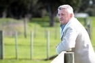 Barry Sutton, owner of Awatere Vineyard Estates that is in receivership. Photo / Doug Sherring