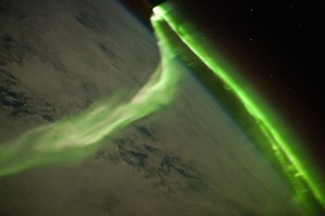 Aurora Australis Observed from the International Space Station. Photo / Supplied
