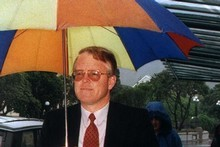 John Barlow during his 1995 trial. Photo / Martin Hunter