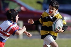 Boys can develop verbal skills and empathy as well as good rugby tactics. Photo / APN