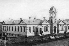 Auckland Grammar School in the 1880s. File photo / New Zealand Herald