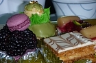 A sumptuous selection of sweet delights on offer at the hotel. Photo / Geoff Cumming