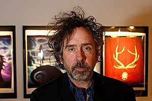 Director Tim Burton is on show in Melbourne. Photo / Supplied