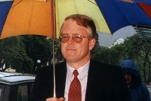 John Barlow during his 1995 trial. Photo / Martin Hunter