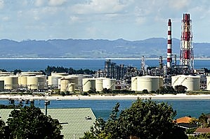 The Marsden Point oil refinery. Photo / Northern Advocate