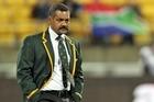 Coach Peter De Villiers. Photo / Getty Images