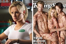 The Piano's child star Anna Paquin is all grown up in True Blood, as the cover of Rolling Stone shows. Photos / Supplied
