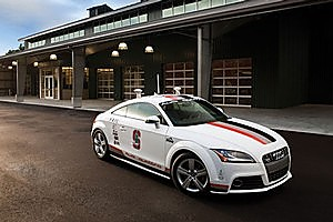 A driverless Audi TTS will speed to the top of Colorado's Pikes Peak. Photo / Supplied