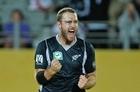 Black Caps skipper Daniel Vettori. Photo / Brett Phibbs