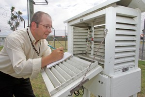 At least three city councils have had their weather recording stations moved. Photo / APN