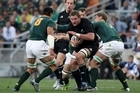 Kieran Read led the charge. Photo / Getty Images