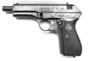The Czechoslovakian made CZ 27 pistol found at the Happy Valley Rubbish tip.