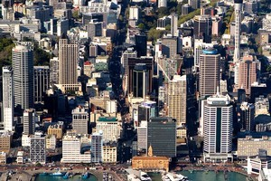 The Auckland central business district. Photo / Supplied