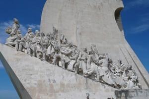 A monument in Lisbon, Portugal. Photo / Peter Calder