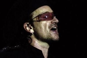 Bono lead singer in U2. Photo / Supplied