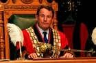 John Banks is sworn in as the Mayor of Auckland City in 2007. Photo / Martin Sykes