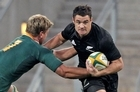 Dan Carter's ankle surgery was a success. Photo / Getty Images