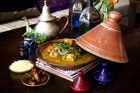 Chicken tagine from Sahaa Medina. Photo / Babiche Martens