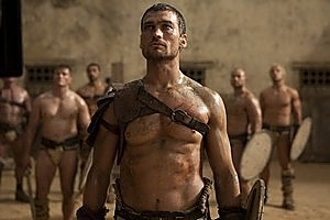 Andy Whitfield in  Spartacus: Blood and Sand . Photo / Supplied