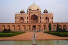 While in Delhi make sure you visit the Tomb of Humayun. Photo / Jim Eagles