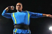 Valerie Adams won a small shot put meet in Slovakia overnight. Photo / Getty Images